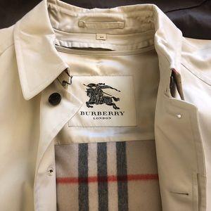 89e0db99f92 Burberry Jackets   Coats - Burberry Oakham Gabardine Single-Breasted Car  Coat